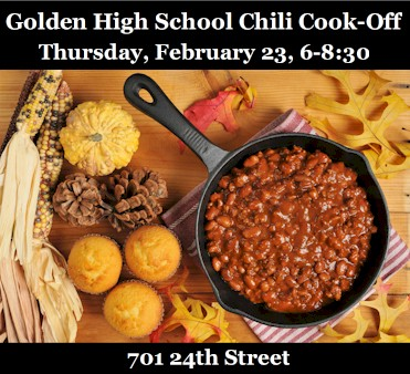Golden High School Chili CookOff