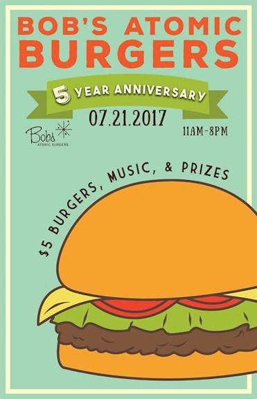 Bob's Atomic Burgers 5th Anniversary - Golden Colorado