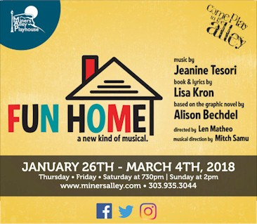 Fun Home at Miners Alley Playhouse - Golden Colorado