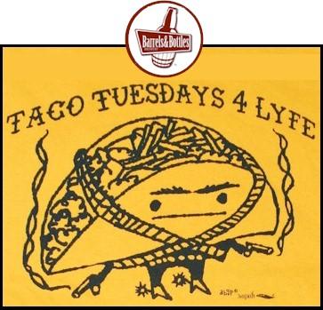 Taco Tuesday at Barrels & Bottles - Golden Colorado
