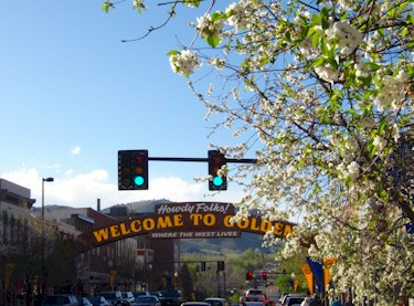 Spring in Golden Colorado