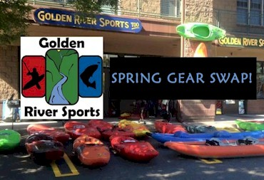 Golden River Sports Spring Gear Swap - Golden Colorado