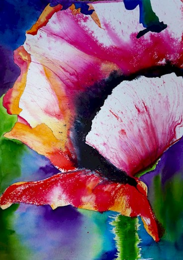 Flower-Painting Class at Foothills Art Center - Golden CO
