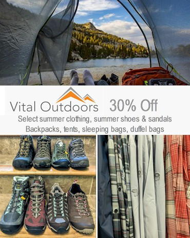 Vital Outdoors Sale - Golden Colorado