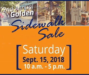 Sidewalk Sale - Golden Colorado