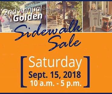 Sidewalk Sale - Golden Colorado