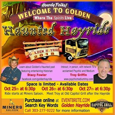 Haunted Hayride by the Golden Hayride - Golden CO
