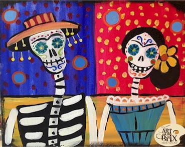 Art on the Brix and Windy Saddle Celebrate Dia de las Muertos - Golden CO