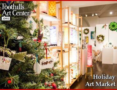 Holiday Art Market at Foothills Art Center - Golden Colorado
