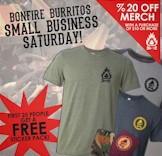 Bonfire Burritos Small Business Saturday