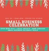 Period Six Studios Small Business Saturday