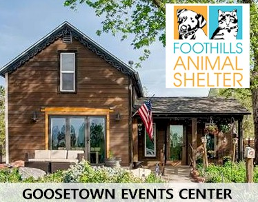 Goosetown Foundation Holiday Fundraiser for Foothills Animal Shelter