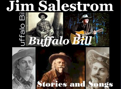 Jim Salestrom performing Buffalo Bill songs and stories - Golden Colorado