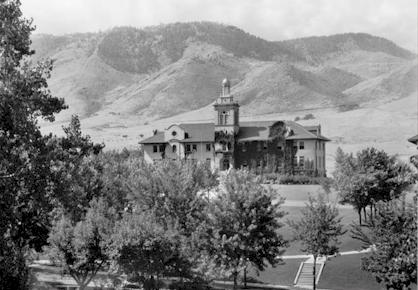 Colorado School of Mines Campus - Golden Colorado