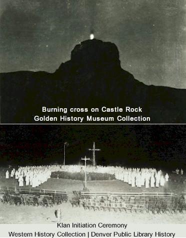 Ku Klux Klan in Golden Colorado