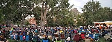 Jefferson Symphony Orchestra free concert in Parfet Park - Golden Colorado